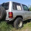 kerekek nélkül 550.000huf!eladó mitsubishi pajero 3500 GDI 1997